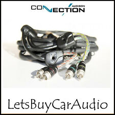 Conexión Audison bt4-550 - 5,5 M Rca coche Amplificador 4 Canales Phono conduce