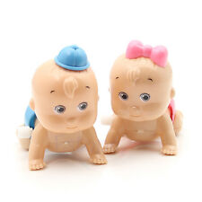 Crawling Crawl Toy Clockwork Doll Wind up For Baby Kids Children Party Style New