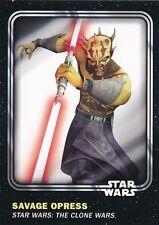 #95 SAVAGE OPRESS 2016 Topps Star Wars Trader Physical card