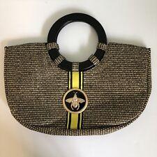 "BRACIANO 🐝 Ladies' Straw Purse ""Bee Straw Bag"" by Braciano Handbag"