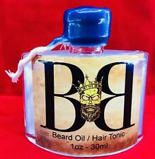 Beard Growth Essenti Oil Conditioner 100% Pure Natural Organic Cool H20 Scent