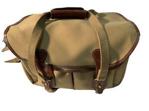 Billingham 335 Camera / DSLR Bag in Khaki with Tan Trim (UK) BNIP