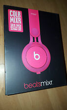 BEATS BY DR. DRE MIXR HEADPHONES BY DR. DRE IN PINK COLOUR BRAND NEW AND SEALED