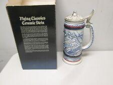 Avon Flying Classics  Ceramic Stein  Mint in Box
