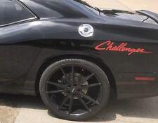 Dodge Challenger 2X Vinyl Decal Stickers mopar hemi Side Graphic SRT HELLCAT R/T