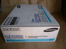 Samsung Cyan Toner Cartridge (CLP-510D2C) Genuine