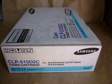Samsung Cyan Toner Cartridge (CLP-510D2C) Genuine