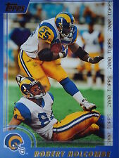 NFL 302 Robert Holcombe St. Louis Rams Topps 2000
