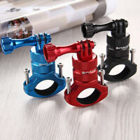 PULUZ Aluminum Alloy Bicycle Stand Mount Holder For GoPro Hero Camera Rotatable