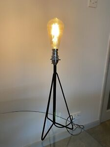 Industrial Lamp Table Lamp LED Filament Bulb Wrought Iron Commercial Light