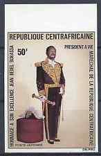 Repubblica Centrafricana Posta Aerea N° 132 Non Dentelé - Neuf Luxe