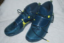 Nike Jordan Men's Size 13 Super Fly 5 PO  Basketball Navy/Lime New Fast ship