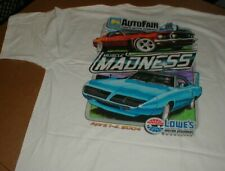 Food Lion Auto Fair Motor Speedway New t-shirt 2X 1969 Mustage Superbird Wing