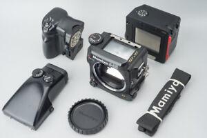 Mamiya 645 Pro TL Medium Format Film Camera w/ AE Prism Finder & Power Grip