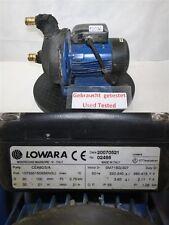 Lowara Pompe CEA80/5/A Pompe à pression wasserpumpe État Parfait