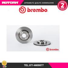 09580224 Coppia disco freno ant Dacia-Nissan-Renault (MARCA-BREMBO)
