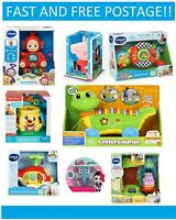 Vtech Baby Teletubbies  Fisher Price LeapFrog Lettersaurus ELC Peppa Pig Toy New
