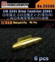 Bigblueboy PE 1//350 IJN Type98 100MM GUN Brass Barrels 35509