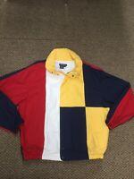Vintage Men's  Nautica Colorblock Sailing Full Zip Jacket XL Excellent Condition