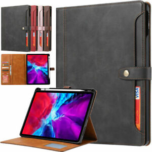 Wallet Leather Magnetic Flip Case cover For iPad Air 10.9 4th Pro 11 12.9 2020