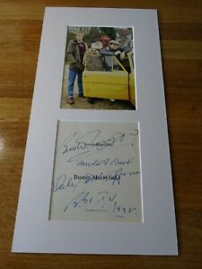 Buster Merryfield Only Fools & Horses Genuine Autograph - UACC / AFTAL.
