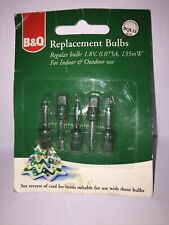 Vintage Christmas  Lights B&Q BQL15 Replacement Bulbs Indoor Outdoor