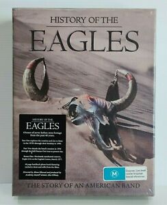 History Of The Eagles 3 Disc Deluxe Box Set DVD - Brand New/Sealed