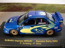 1/43 Ixo subaru impreza wrc #1 Sweden rally 2004
