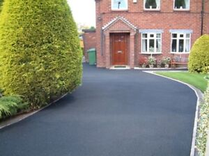Black Tarmac Driveway  Paint And Driveway Sealer - restorer 5 litres*