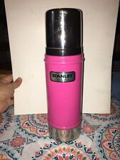 Stanley Thermos Insulated Vacuum Bottle 16 Oz Pink