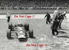 Jim Clark Lotus Ford 38/1 Winner Indianapolis 500 1965 Photograph 24