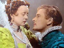 ERROL FLYNN & BETTE DAVIS Color Movie Film 8 x 10 PHOTO ELIZABETH Essex ak1622
