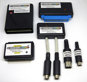BOXED DIAG 264 Commodore Diagnostic C16/+4 /116 GOLD ENIG Cartridge + Harness