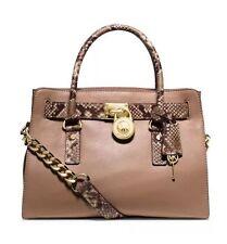 NWT Michael Kors Handbag Hamilton Leather Satchel, Shoulder Bag, Tote Purse $348