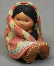 Collectible Friends Of The Feather Native American Figurine Wrapped In Love