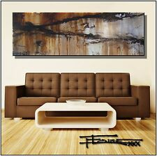 ABSTRACT PAINTING Canvas WALL ART 72 inch, Framed, Signed, US ELOISExxx