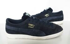 Mens PUMA Brasil Blue suede leather Trainers Size 10 Great Cond