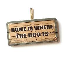 Lindo Divertido Casa De Perro Casa es donde el perro es signo
