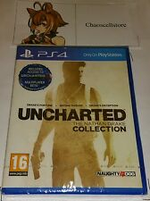Uncharted: The Nathan Drake Collection PS4 New Sealed UK PAL Sony PlayStation 4