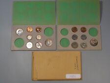 1958-pd UNC US (Part) Mint Set - 15 Toned Coins - Missing Some Coins.  #16