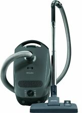 New Miele Classic C1 Limited Edition Canister Vacuum Cleaner, Graphite Grey