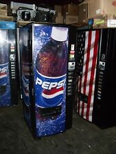 Dixie Narco 276E beverage / soda vending machine with Pepsi front