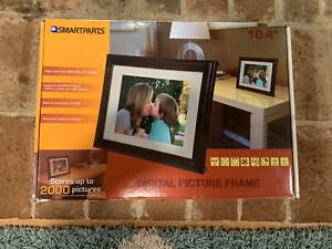 "Smartparts Digital Picture Frame 10.4"" LCD display 128 MB OptiPix 800x600"