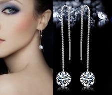 Orecchini Donna Luce Pendenti Lunghi saliscendi argento bracciale charms collana