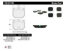 Disc Brake Pad Set-RWD Front Centric 102.01140