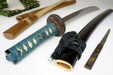 Japanese Yr1594-Dated Antique Wakizashi Sword Nagamitsu永光 Samurai Nihonto Katana