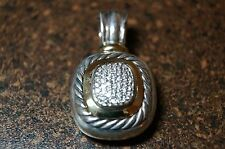David Yurman Pendant Sterling+18k Yellow Gold with Diamonds