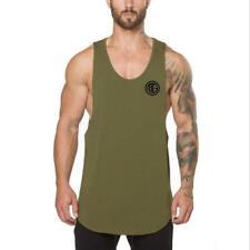 Golds gyms  singlet  bodybuilding stringer tank top men fitness muscle T Shirt