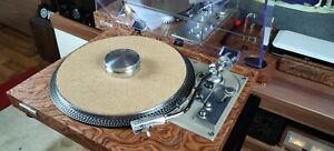 Pioneer pl-516 turntable, record player in beautiful natural wood veneer