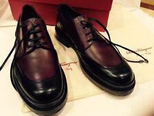 """FERRAGAMO"""" MONZA"""" MEN OXFORD shoes. LIST PRICE $ 1300.SIZE 10D"""